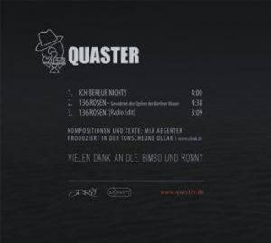CD Ich bereue nichts Quaster