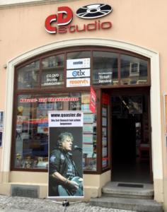 Autogrammstunde im CD Studio Zittau