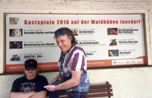 Bühnencheck Waldbühne Jonsdorf