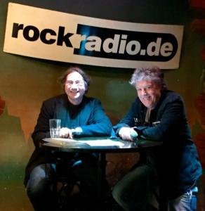 Dieter Hertrampf bei Rockradio