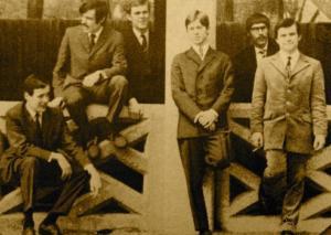 Dieter Hertrampf mit dem Teisco Quartett